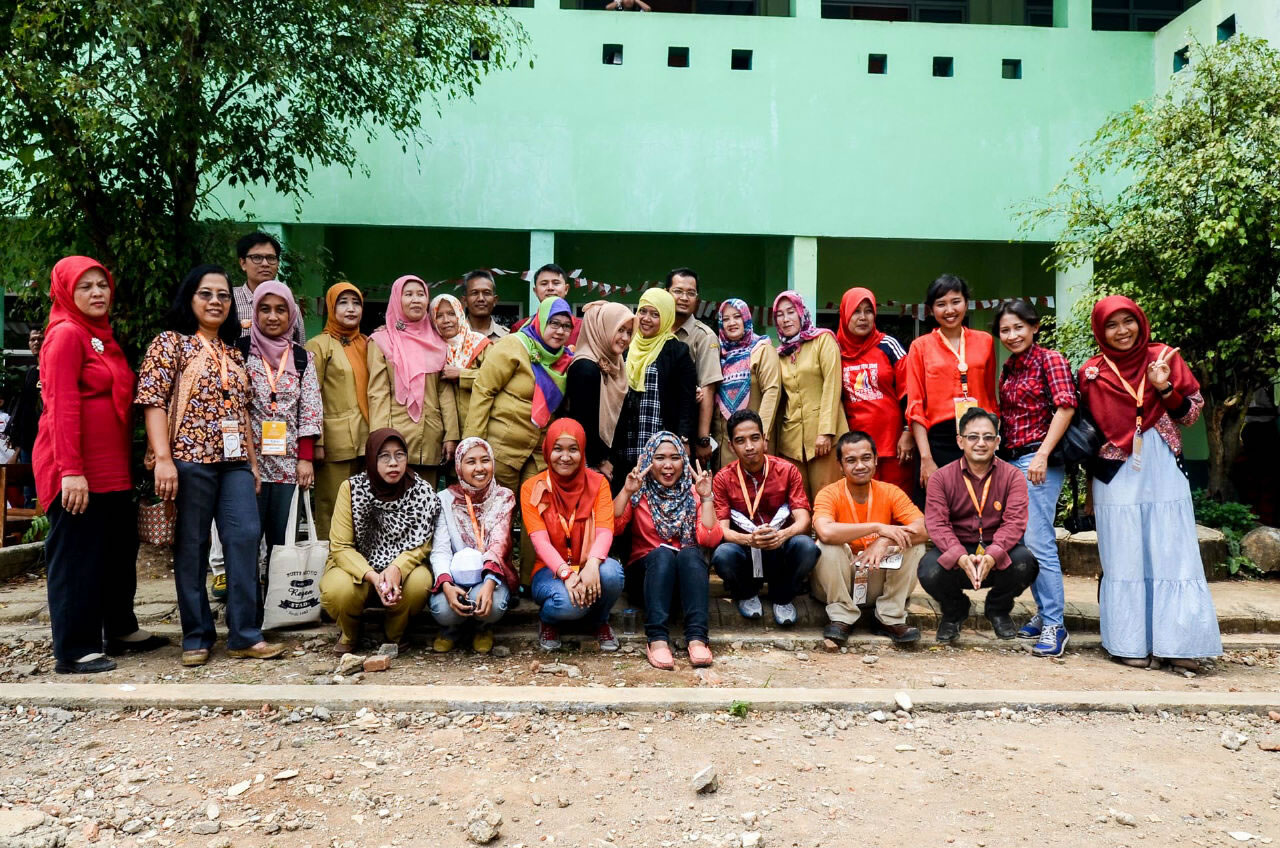 bersama para guru