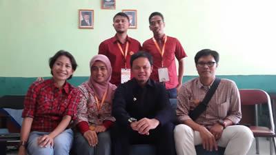 bersama walikota Bogor, Bima Arya